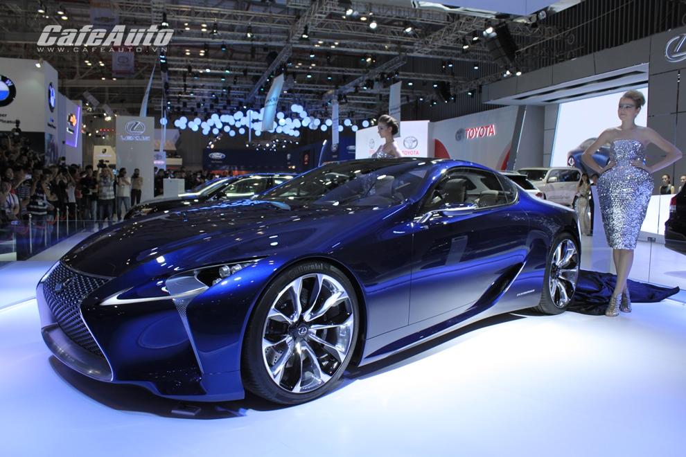 VMS 2014: Vẻ đẹp Lexus LF-LC concept