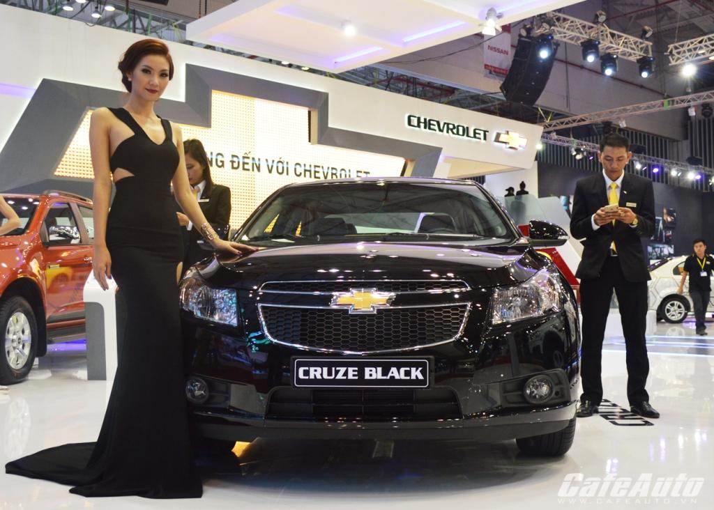 VMS 2014: Chevrolet ra mắt Cruze và Colorado phiên bản mới