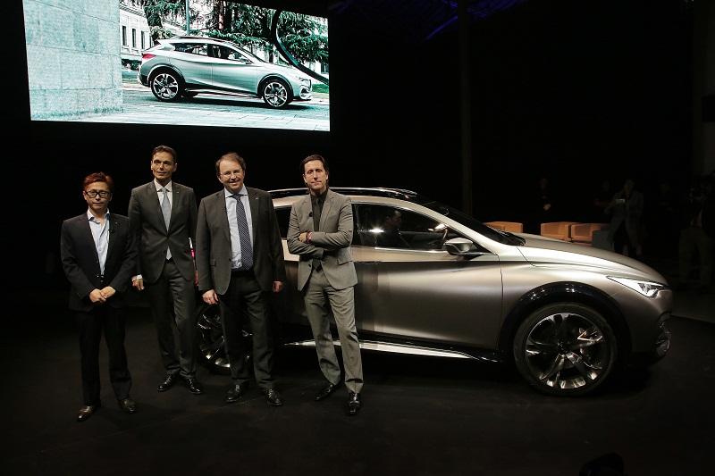 Geneva Motor Show 2015: Infiniti QX30 chính thức ra mắt