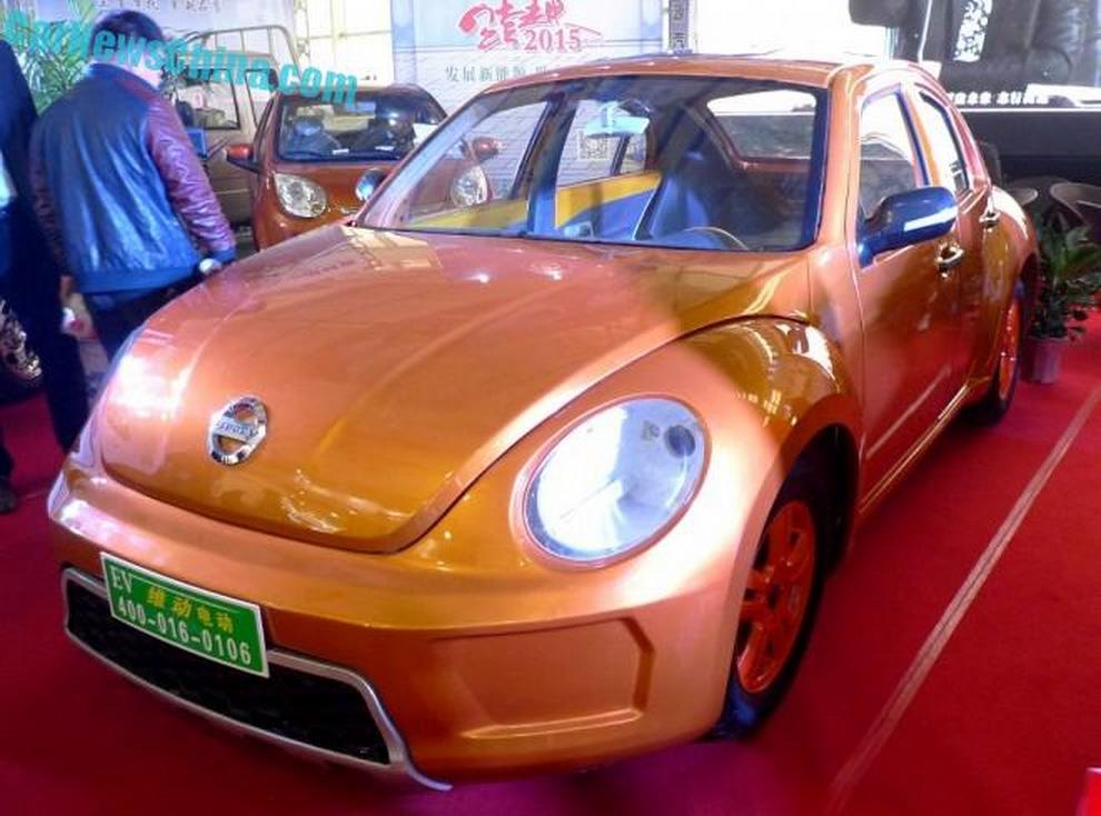Con bọ Bettle bị nhái trắng trợn ở Trung Quốc