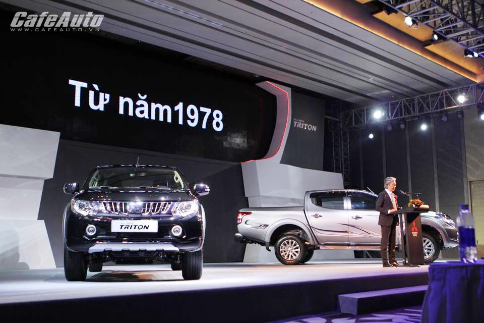 Mitsubishi Triton 2015 ra mắt thách thức Navara, Ranger