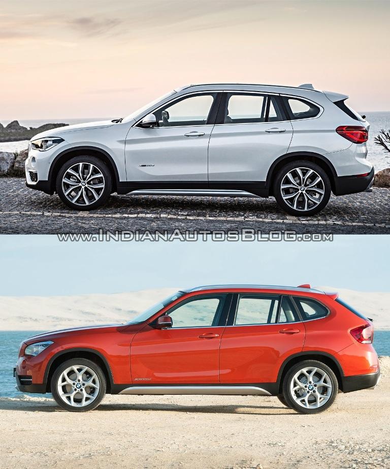 Soi điểm khác biệt giữa BMW X1 cũ và mới