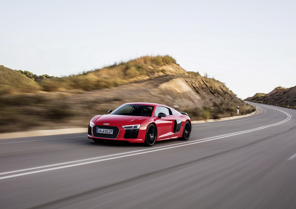 Siêu xe Audi R8 2017 đã sẵn sàng để bán ra