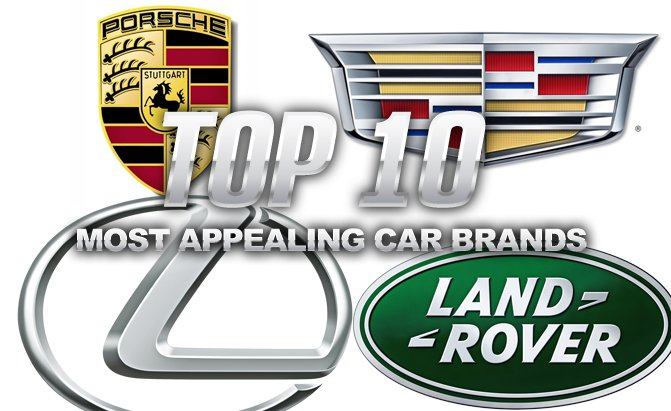 10 thương hiệu ô tô hấp dẫn nhất