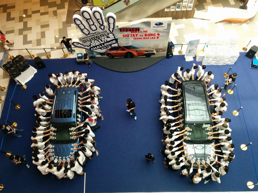 Subaru Palm Challenge 2015 đã tìm được người thắng cuộc