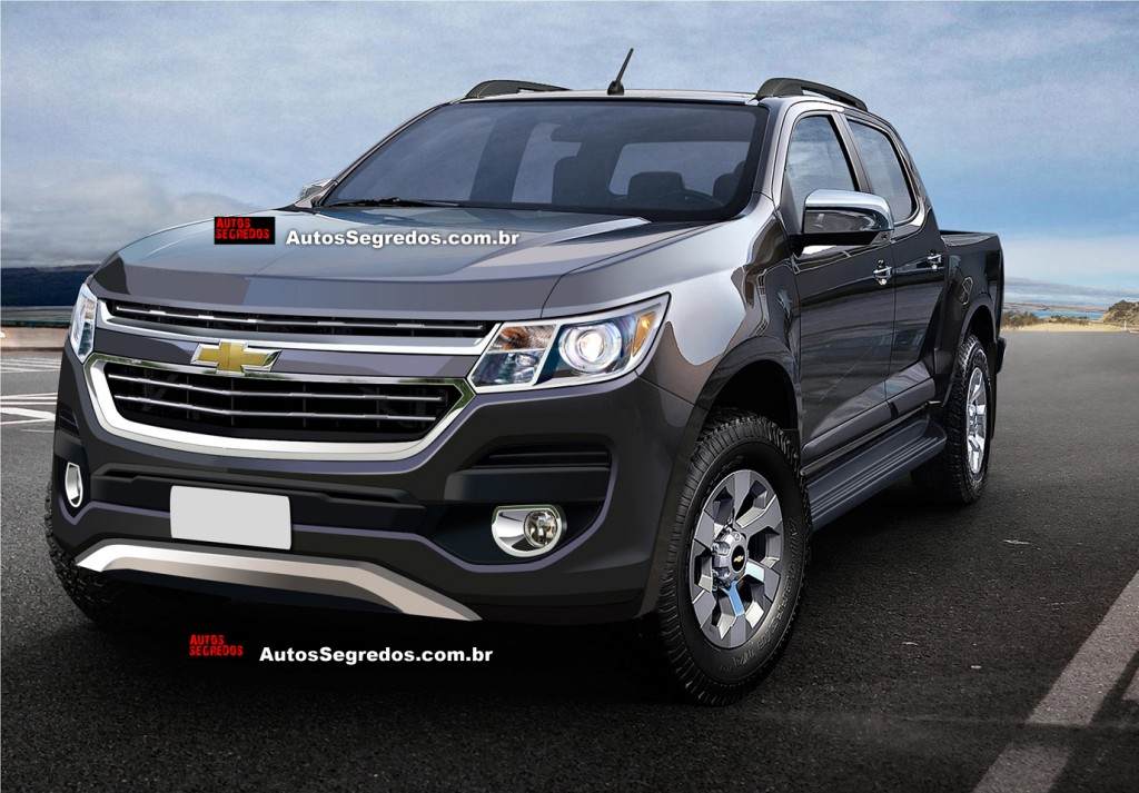 Chevrolet nâng cấp giữa chu kỳ Colorado