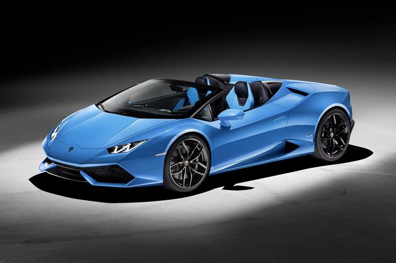 Lamborghini Huracan bản mui trần ra mắt