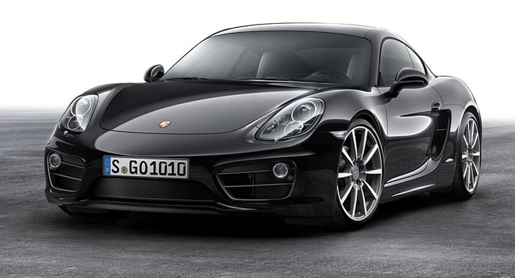 Sức hút từ Porsche Cayman Black Edition