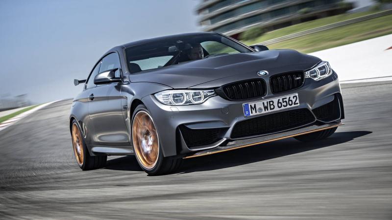 """BMW tung """"chiến binh"""" đường phố M4 GTS 2016"""