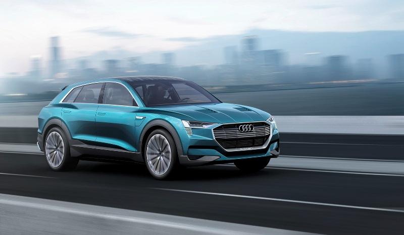 """Audi Q6 E-Tron """"gây áp lực"""" với Tesla Model X"""