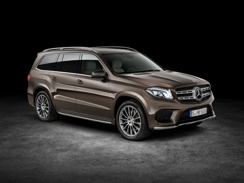 Mercedes-Benz GLS 2016 công bố giá bán