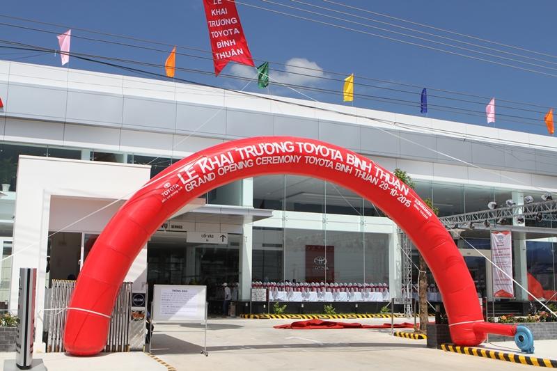 Toyota Bình Thuận chính thức đi vào hoạt động