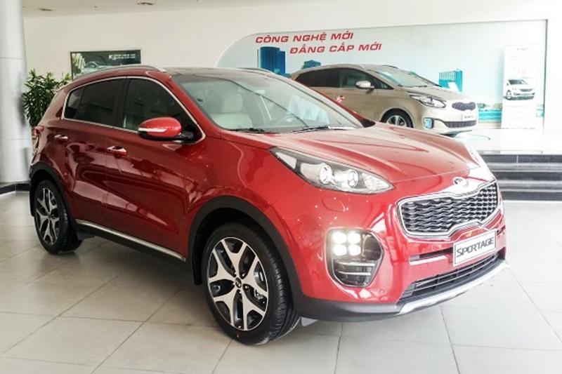 Kia All New Sportage có giá bán công bố 998 triệu đồng tại Việt Nam