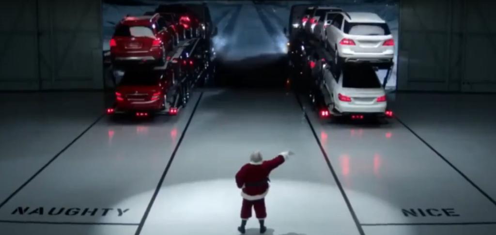 """Những quảng cáo """"độc"""" của các hãng xe dịp Giáng sinh"""