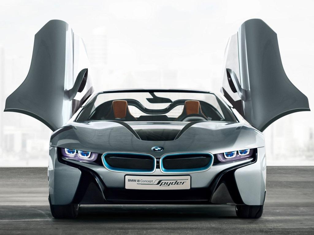 """Siêu phẩm"" BMW i8 Spyder mui trần sắp ra mắt"