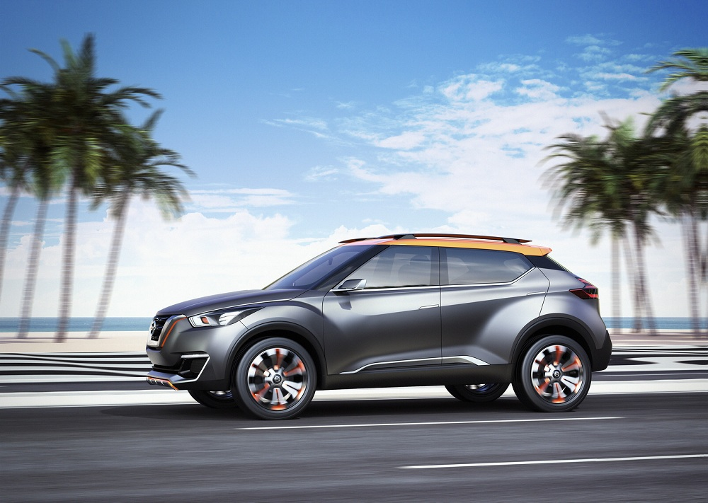 Nissan Kicks, SUV cỡ nhỏ hoàn toàn mới sẽ ra mắt trong năm 2016