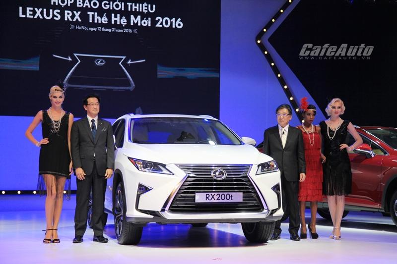 Lexus RX 2016 hoàn toàn mới ra mắt với 2 phiên bản, giá từ 3,060 tỷ đồng