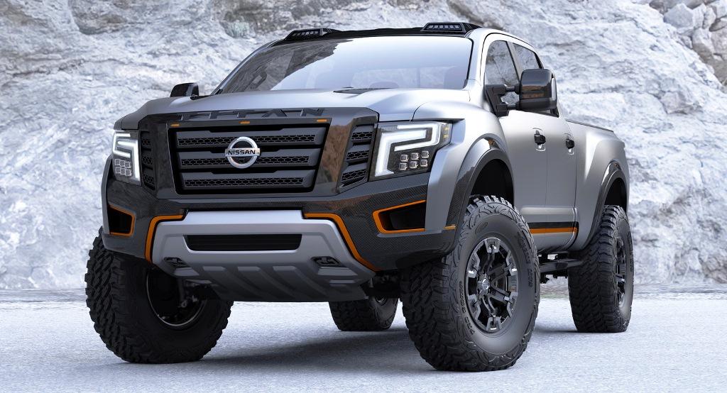 """Chi tiết """"chiến binh"""" off-road Nissan Titan Warrior Concept"""