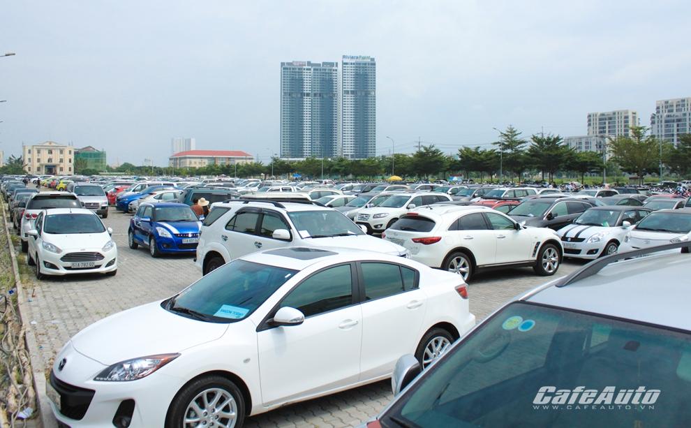 Những tuyến đường, tòa nhà được phép đậu xe trong Tết tại TP.HCM