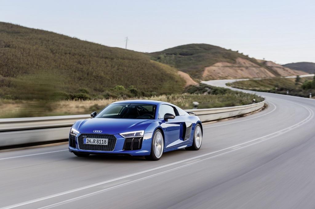 Siêu xe Audi R8 2017 hoàn toàn mới có giá từ 162.900 USD