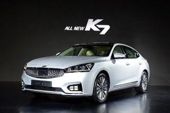 Công bố chi tiết Kia K7 2016