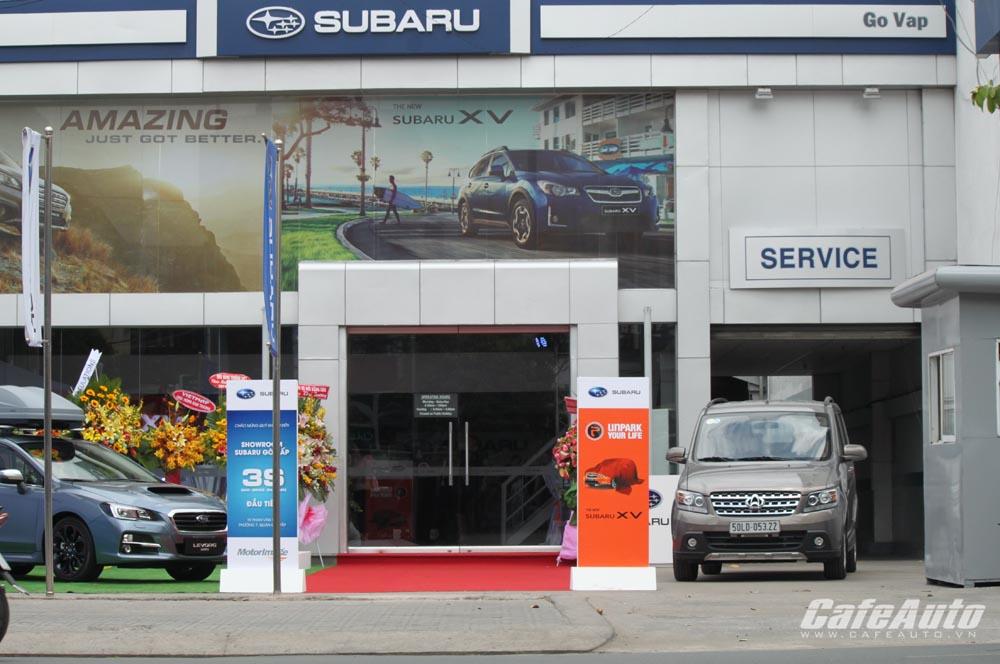 Subaru khai trương showroom 3S đầu tiên tại TP.HCM