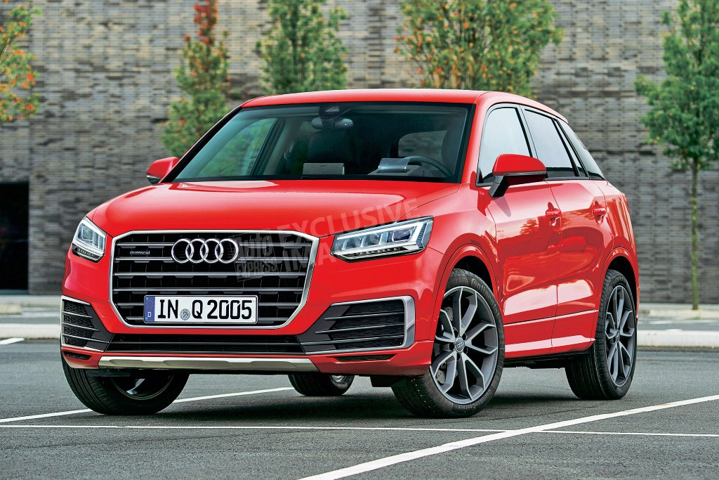 Audi Q2, SUV cho giới trẻ lần đầu lộ ảnh thực tế