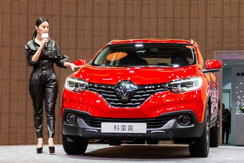 Renault khánh thành nhà máy đầu tiên tại Trung Quốc