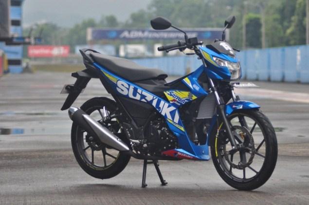 Xe côn tay Suzuki Satria F150 mới nhất 35 triệu đồng trình làng tại Indonesia