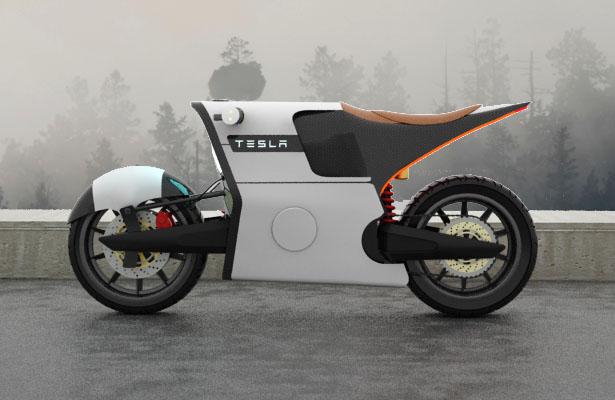 Lộ diện xe điện 2 bánh phong cách mới của Tesla