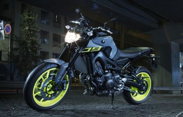 Yamaha MT-09 2016 có giá 236 triệu đồng ra mắt tháng 03/2016