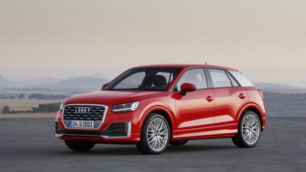 Audi Q2 chính thức ra mắt tại Geneva Motor Show 2016