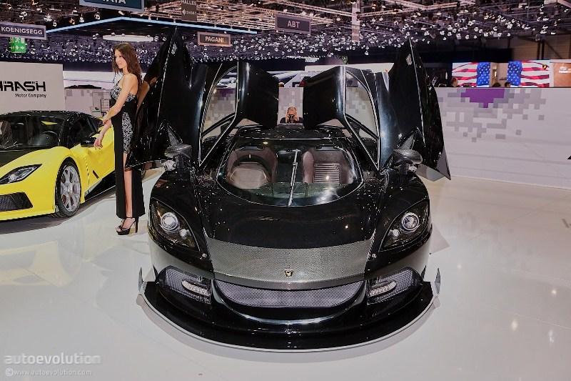 Cận cảnh Arash AF10 siêu xe mạnh hơn cả Bugatti Chiron