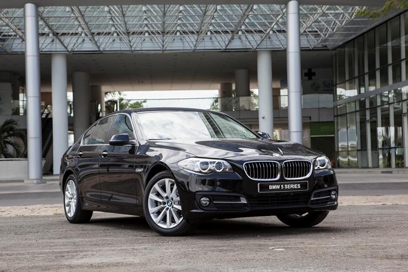 BMW Series 5 bản đặc biệt dành riêng cho khách hàng Việt Nam