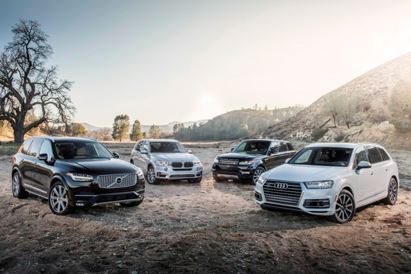 BMW X5, Audi Q7, Range Rover Sport HSE, Volvo XC90 T6 - Lựa chọn nào cho SUV hạng sang?