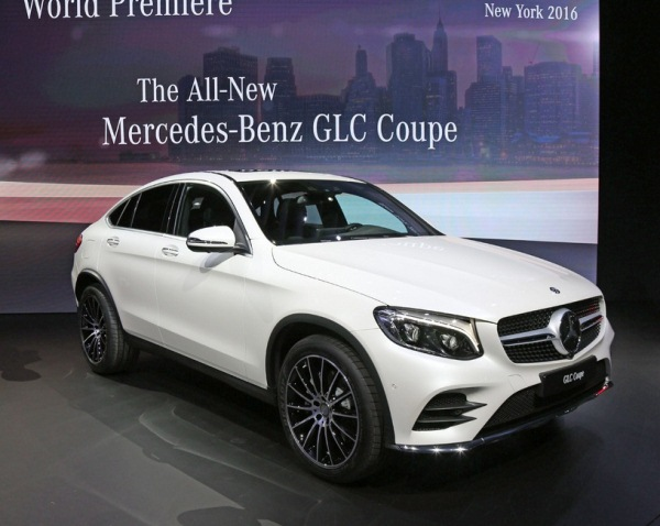 Mercedes-Benz GLC Coupe 2017 ra mắt tại New York Auto Show