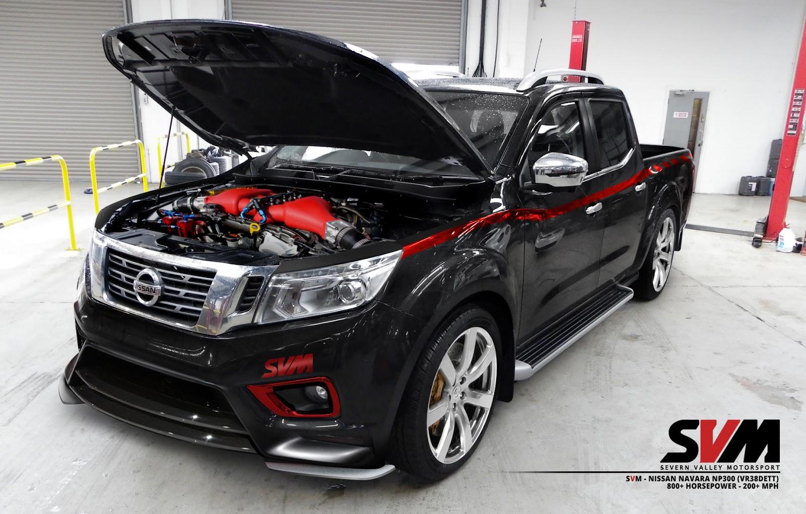 """Nissan Navara hóa """"quái vật"""" với sức mạnh 800 mã lực"""