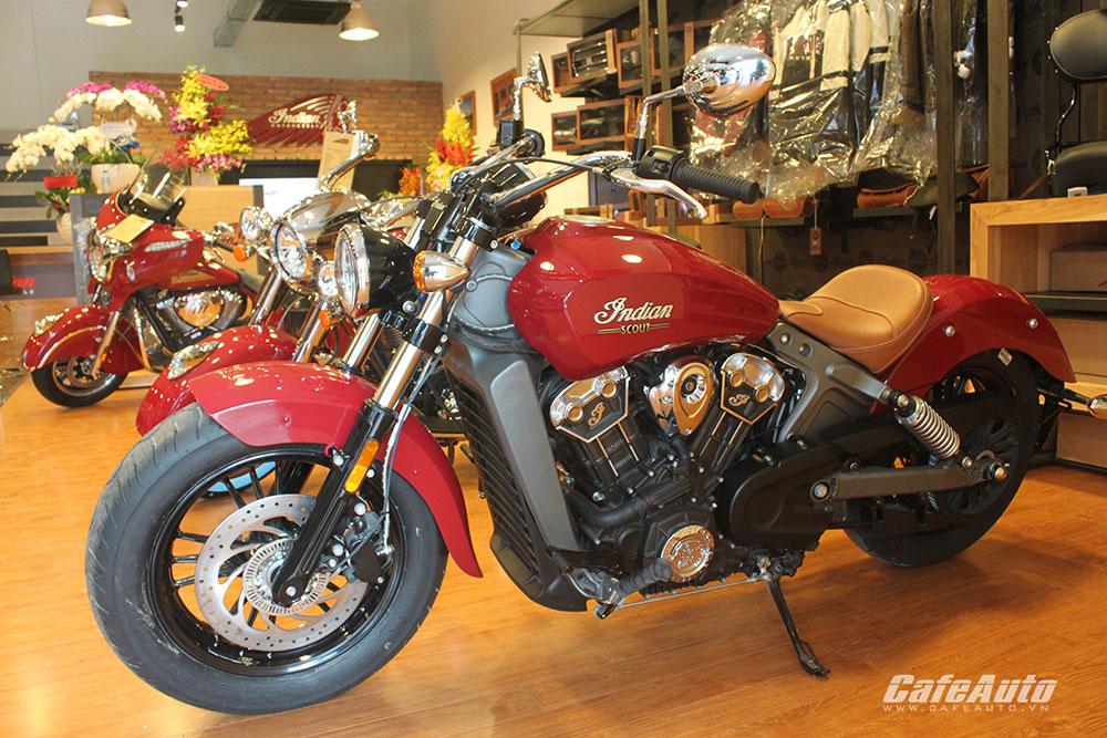 Bên trong showroom đầu tiên tại Việt Nam của Victory và Indian Motorcycle có gì?