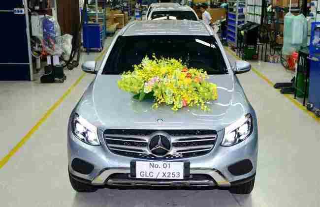 Mercedes-Benz GLC chính thức ra mắt thị trường Việt vào cuối tháng 4/2016