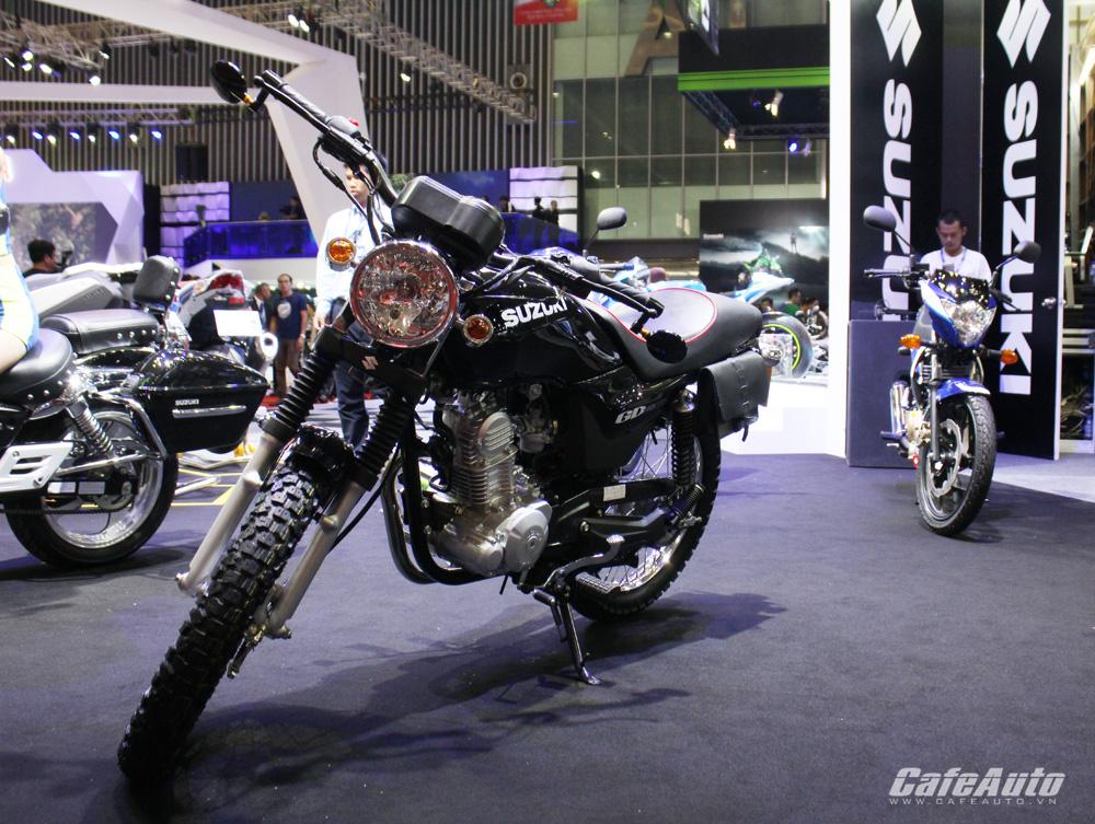 Suzuki GD110: Xe côn tay giá rẻ dưới 30 triệu đồng tại Việt Nam