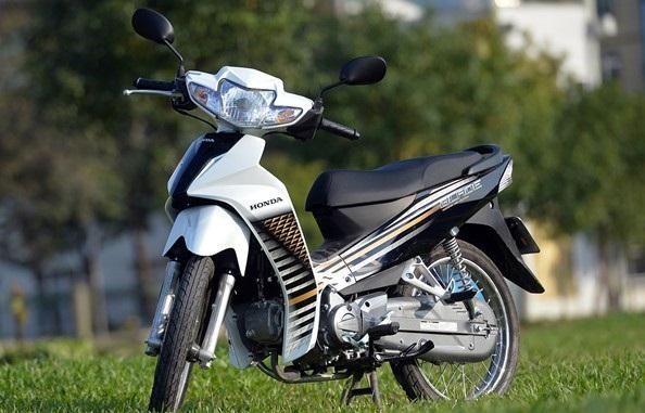 3 mẫu xe số dung tích dưới 120cc trong tầm giá 20 triệu đồng