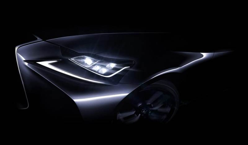 Lexus IS 2016 ra mắt tại Bắc Kinh Auto Show
