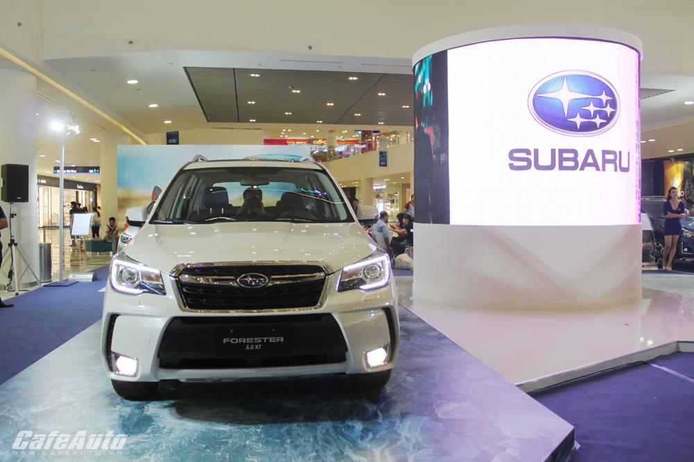 Subaru Forester 2016 ra mắt tại Việt Nam