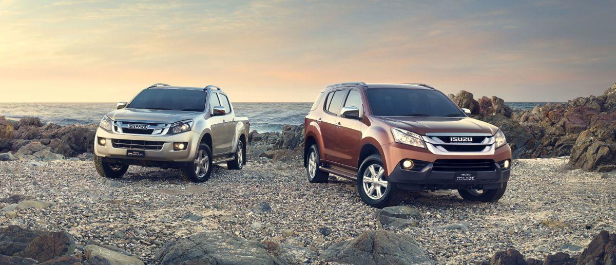 SUV hoàn toàn mới Isuzu MU-X giá gần 1 tỷ đồng tại Việt Nam