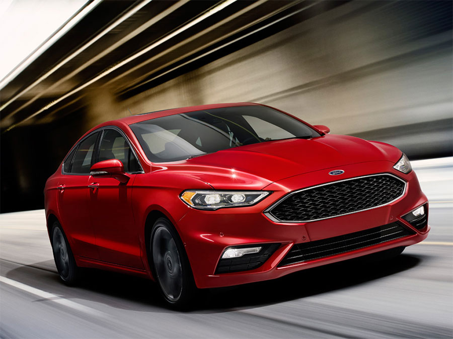 Ford Fusion Sport 2017 sắp được bán ra