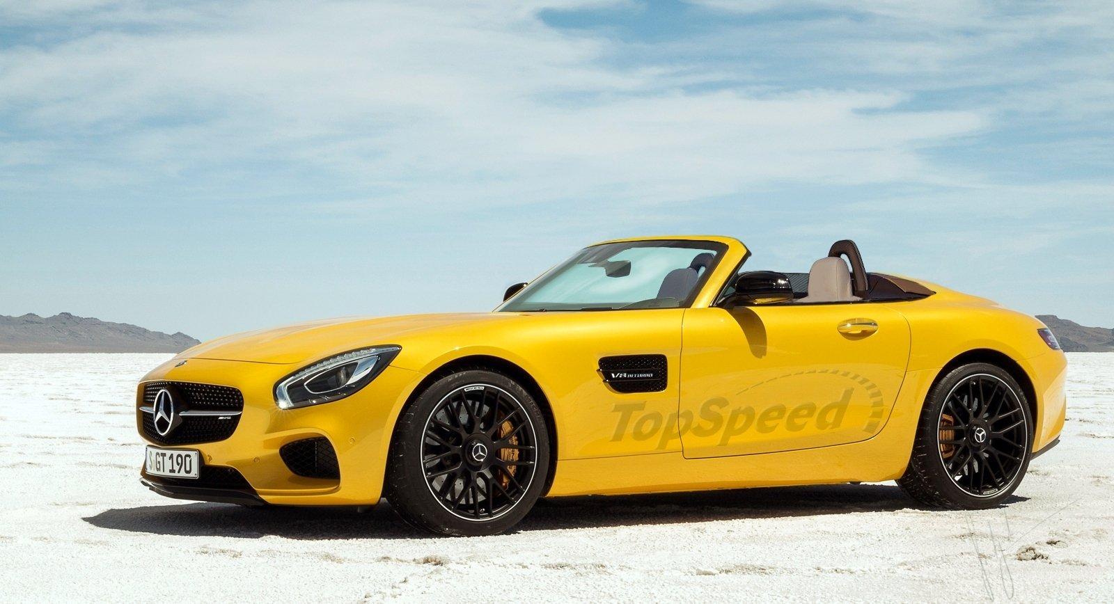 Mercedes-AMG GT sẽ có thêm phiên bản Roadster
