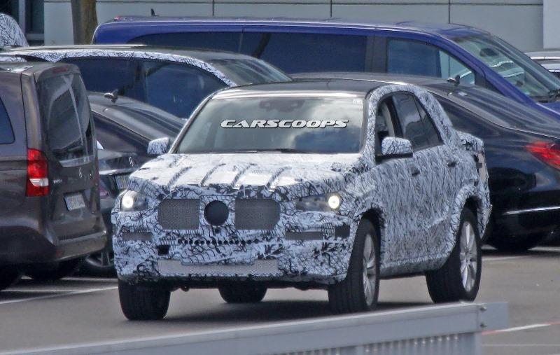 Mercedes-Benz GLE thế hệ mới lần đầu lộ diện