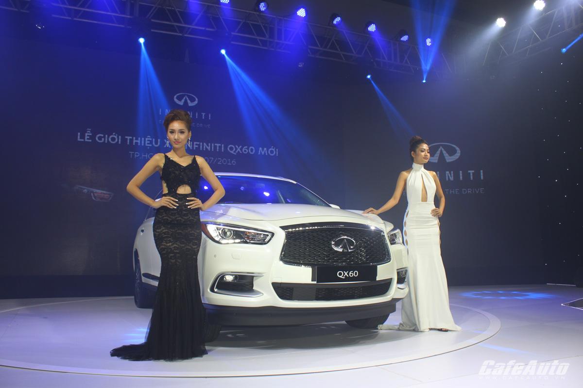Infiniti QX60 2016 ra mắt khách hàng Việt Nam, giá từ 3,4 tỷ đồng