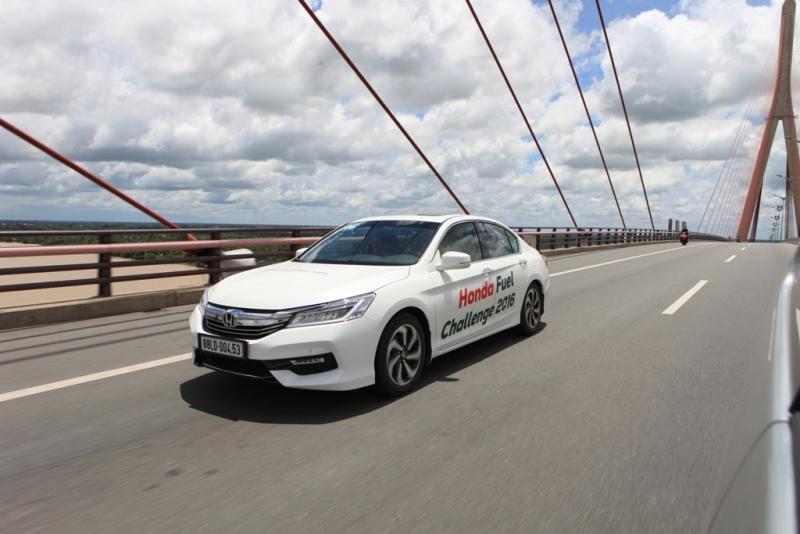Honda Fuel Challenge 2016: Thử thách khả năng tiết kiệm nhiên liệu Odyssey và Accord