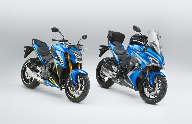 Suzuki trình làng GSX-S1000 và GSX-S1000F phiên bản đặc biệt